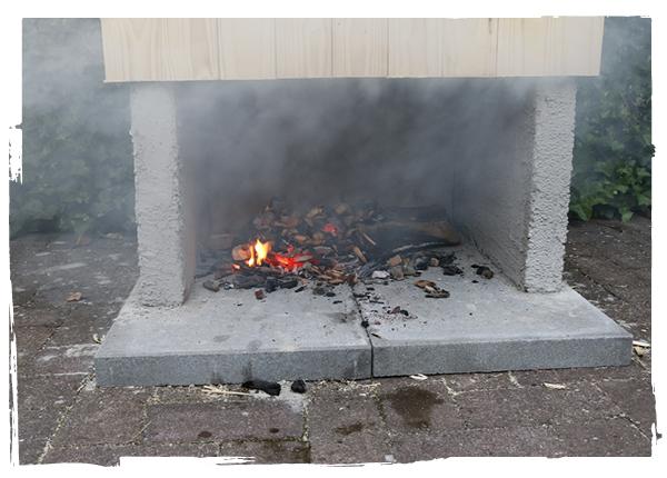 Bygga rök